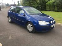 2005 VOLKSWAGEN GOLF 1.9TDI VAN, LONG PSV AND FULL SERVICE HISTORY. CHOICE OF 3
