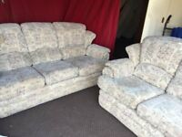 BIEGE FABRIC G PLAN 3 SEATER SOFE WITH 2 SETAER SOFA,CAN DELIVER
