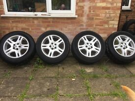 """Range Rover 18"""" alloys to fit P38 and L332. In very good condition for age and no kerb damage.."""