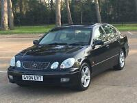 STUNNING 2004 LEXUS GS300 SE LPG GAS RARE BLACK CREAM LEATHER LAST ONE MADE VERY CLEAN FOR AGE