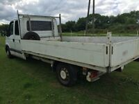 alloy drop side body 14ft long removed from renault master lwb will fit transit ldv iveco ect ect