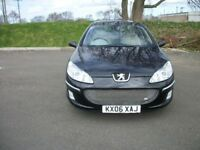 PEUGEOT 407 2.0 HDI EXECUTIVE - 4 DOOR- 2006 -06-REG