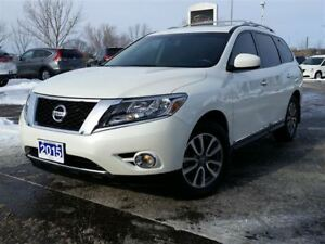 2015 Nissan Pathfinder SL-AWD-NAVIGATION-HEATED LEATHER-SUNROOF
