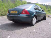 2002 Ford Mondeo Ghia X Turbo Diesel