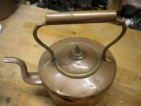 COPPER KETTLE vintage country kitchen Copper kettle