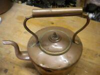 COPPER KETTLE vintage country kitchen Copper kettle