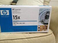 HP Laserjet print cartridge 15 x