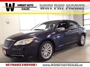 2012 Chrysler 200 LIMITED| LEATHER| NAVIGATION| SUNROOF| 83,948K