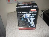 bran new boxed sata rp 400 b digital spray gun 1.3 tip