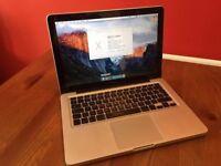 """13"""" macbook pro ,250gb hard drive, 4gb ram (good offer)"""