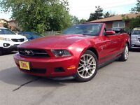 2012 Ford Mustang V6 PREMIUM HTD LEATHER CHROME