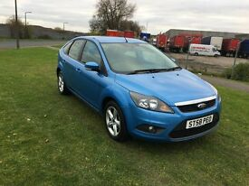 58 REG FORD FOCUS 1.8 ZETEC 5DR-DRIVES WELL-NEW SHAPE-AIR CON-GOOD CAR LOOKS AND DRIVES WELL