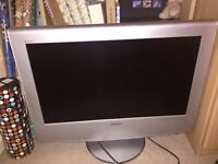 "Sony WEGA LCD 27"" silver TV, excellent condition, fully working order"