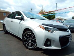 2014 Toyota Corolla S 6-SPEED MT   LEATHER.ROOF   BLUETOOTH.CAME
