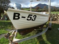 19 foot GRP Fishing Boat with inboard Diesel and Licence