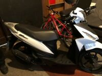 Suzuki Motorcycle Scooter Suzuki UK 110 Address NE 2016 Excellent Condition & just over 3000 miles