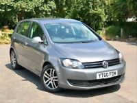 Volkswagen Golf Plus 1.6 TDI BlueMotion Tech SE, 2 YEARS WARRANTY, £30 ROAD TAX PARK Assist VW