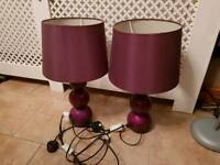 Table lamps and extras