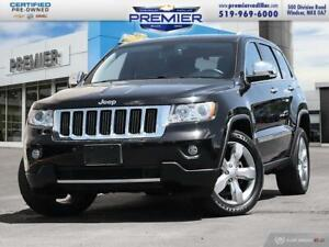 2012 Jeep Grand Cherokee Limited - panoramic sunroof, Navigation