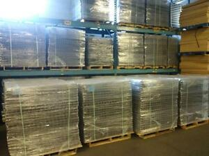Huge stock of new wire mesh decks for pallet racking available now!