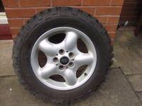 Freelander 1 Off road Wheel and Tyre