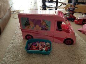 Nice Barbie camper van
