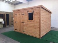 garden sheds quality built made to order any size or spec.