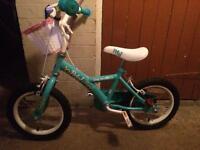 """14 """" girls bike"""