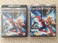Amazing Spider-Man 2 - 4K UHD, Blu-ray, Digital - New & Factory Sealed