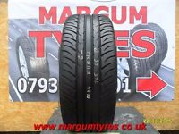 AA.104 1X 205/45/17 88W ZR XL 1X6MM TREAD KUMHO ECSTA SPT - USED TYRE