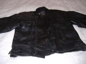 Rhino Mens motor cycle jacket no armour