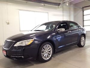 2012 Chrysler 200 LIMITED| LEATHER| NAVIGATION| SUNROOF| 83,948K Kitchener / Waterloo Kitchener Area image 3