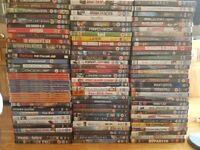 100+ DVDs ( no copies)