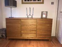 Solid oak sideboard - Next furniture