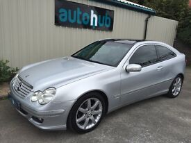 2006 55 MERCEDES-BENZ C220 AMG SPORT SE CLC AUTO COUPE *PANORAMA EVOLUTION*