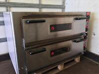 SGS Pizza Oven, double deck, single phase