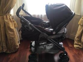 3 in 1 pram pushchair with car seat