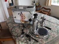 La Pavoni EPC-8 Europiccola 8-Cup Lever Style Espresso Machine, Chrome Coffee Machine for sale  Teignmouth, Devon