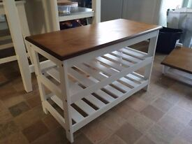 Coat Hanger and shoe Bench Rustic shabby chic Look Cost £120 Looking for £30 pine Delivery