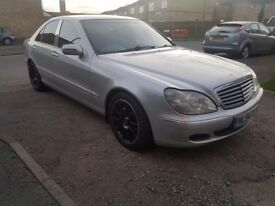 2004 MERCEDES S320 CDI..AUTOMATIC.FULLY LOADED