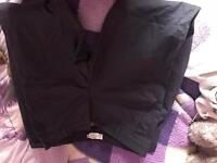 3 pairs of trousers from bench and h&m size 10