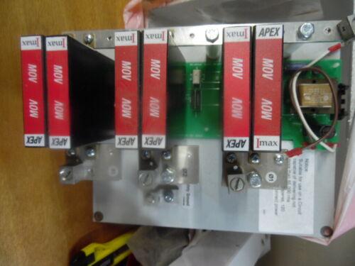 USED? AC Surge Protector SPD APEX IMAX Panel 120/240 Vac Split-Phase MOV 160 kA