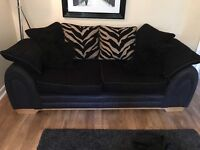 2 DFS sofas immaculate condition & very comfortable