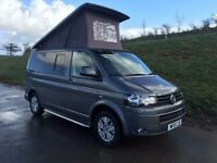 2015 VW Transporter T5 Highline Camper T28 102bhp 4 Berth Campervan