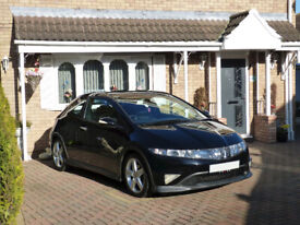 image for Low Mileage Honda Civic 1.8 Type S GT Nighthawk, Only 30k Miles, Cruise Control, Panoramic Roof, A/C