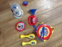 Paw patrol musical instruments