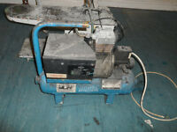 Air Compressor in blue can deliver manchester or collect Trafford Park