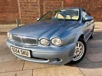 2004/ JAGUAR X TYPE / AUTOMATIC / LEATHER / CD / 12 STAMPS / SEPT MOT .