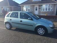 Corsa automatic new mot