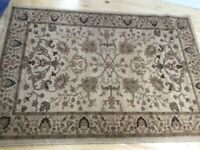 Neutral Decorative ZIGGLER Rug in Great Condition 170 cm x 120 cm / Can Deliver